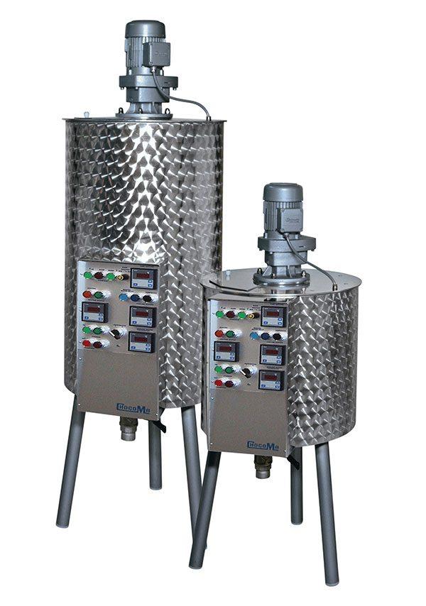 2T TEMPERERS, Chocolate manufacturing machine